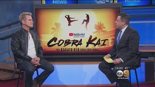 """Karate Kid"" Star Martin Kove Talks New Hit Show"