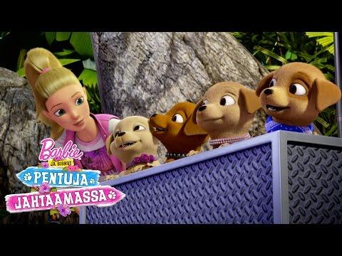 Barbie ja siskot pentuja jahtaamassa -elokuvan traileri | Barbie