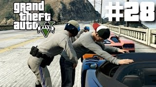 "Grand Theft Auto 5 Gameplay Walkthrough Part 28 ""I FOUGHT THE LAW"" (GTA V)"