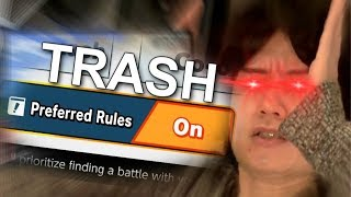 Smash Ultimate but the Ruleset is Awful