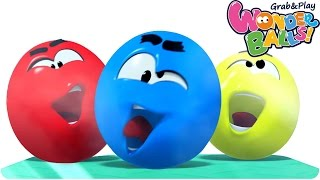 Cartoon | WonderBalls - Color Cruncher | Funny Cartoons For Children | WonderBalls Playground