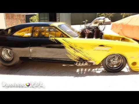 Scort Drag Racing 3500HP, Yellow Black Lethal, Ensaio da Perfeição