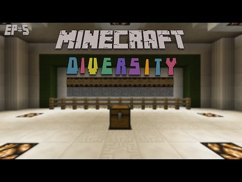 Minecraft: Diversity Ep#5 That Puzzle Was Not So Bad