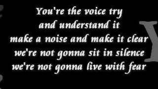 John Farnham - You're The Voice (lyrics)