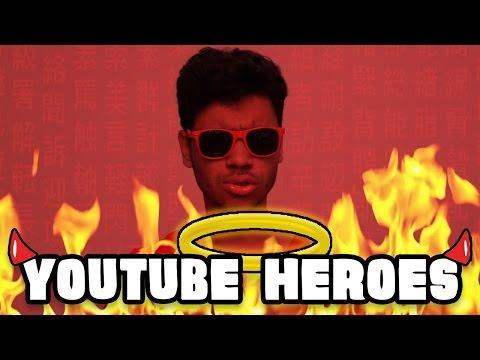 YouTube Heroes: HERÓIS OU VILÕES | Pixel Tutoriais