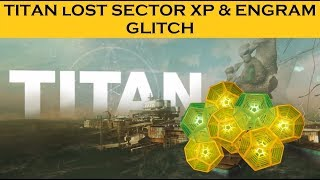 Destiny 2 FARM TITAN: OLD LOOT CAVE YOU MUST KNOW ABOUT! glitch how to farm engram