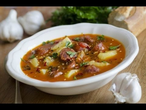 Испанский суп на турецкий манер! Внесите разнообразие в ваше меню:)