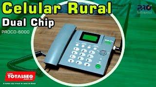 Celular Rural Dual Chip Proeletronic (O que é? Como Funciona? Características e Funcionalidades)