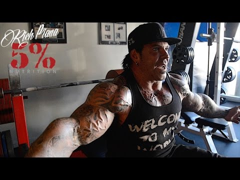 BENCHING BODYWEIGHT FOR THE MOST REPS - Rich Piana