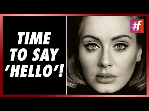 #fame hollywood - Adele's First New Song 'Hello' In Three Years!