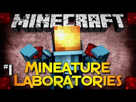 Minecraft: Mineature Laboratories - Part 1 - Portal Based Redstone Adventure!