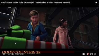 Goofs Found In The Polar Express All The Mistakes & What You Never Noticed   YouTube   Google Chrome