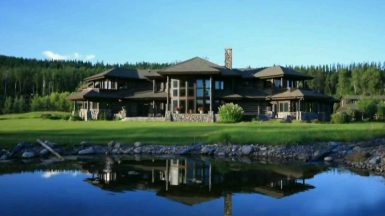 America S Finest Log Home Estate Youtube