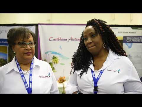Delia Bennett and Lisa Morales-Wilson, Caribbean Airlines