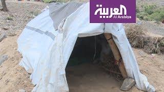 اللاجئون في رمضان: خيام صغيرة لا تتسع لعائلات النازحين غرب تعز