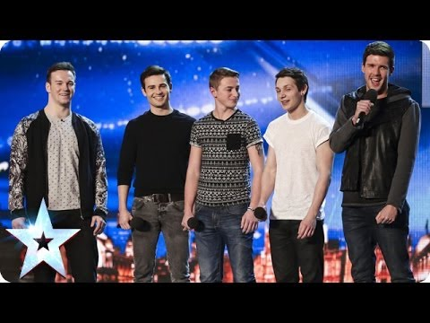 Collabro sing Stars from Les Mis�rables | Britain's Got Talent 2014