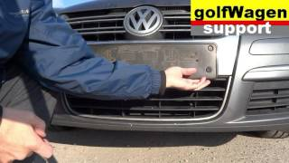 VW Polo, VW Golf, VW Passat  ambient temperature sensor replacing