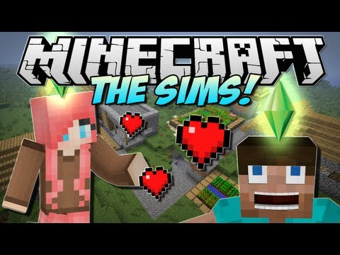 Minecraft   THE SIMS in Minecraft! (Minecraft Comes Alive!)   Mod Showcase [1.5.1]