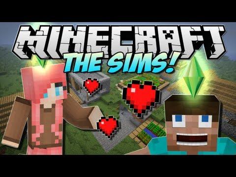 Minecraft | THE SIMS in Minecraft! (Minecraft Comes Alive!) | Mod Showcase [1.5.1]