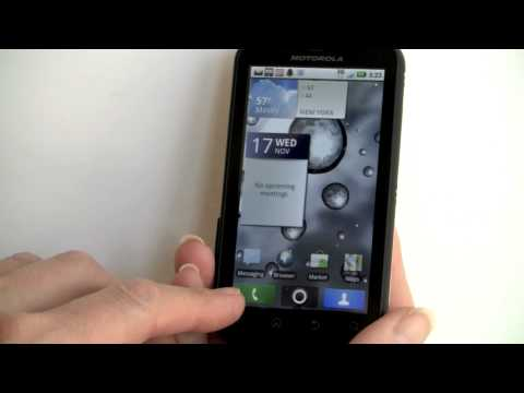 A video review of the Motorola Defy Android smartphone on T-Mobile. The Defy is a rugged smartphone that's water and dust resistant yet it doesn't look bulky and it's lightweight. The Motorola...