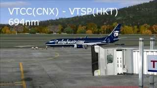 FSX- Flight No.4 [CNX - HKT]