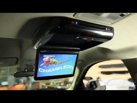 Concept A102M Chameleon Overhead Flip Down LCD Monitor w/ DVD Player | Car Video Entertainment