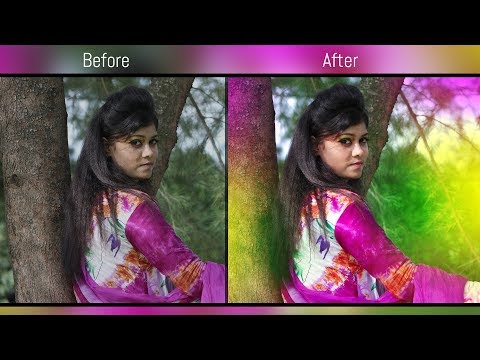 Photoshop CC Tutorial | Dreamy Color Effect Full Outdoor Photo Editing