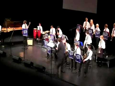 Tiger of San Pedro - Tauranga Boys' College Big Band (National Tauranga Jazz Festival 2012)