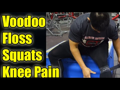 My Experience with Voodoo Flossing My knees for Squats