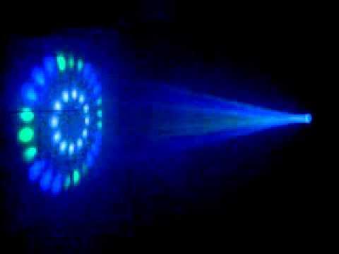 Super Raio DJ 56 Leds - Com Leds Brancos