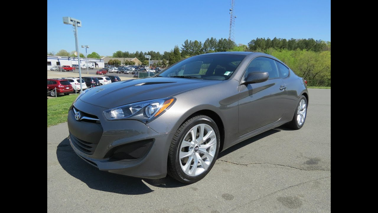 Genesis Coupe 2 0t >> 2013 Hyundai Genesis Coupe 2.0T Start Up, Exhaust, and In Depth Review - YouTube