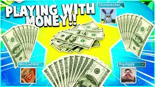 Playing UNO For MONEY!