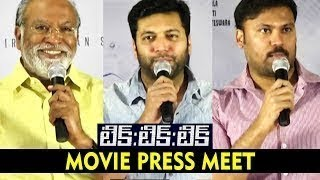 Tik Tik Tik Movie Press Meet | Telugu Latest Movei 2018 | Jayam Ravi | Nivetha