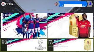 FIFA 19 OFFLINE PARA ANDROID NUEVA INTERFAZ + KITS & FICHAJES 2018-19