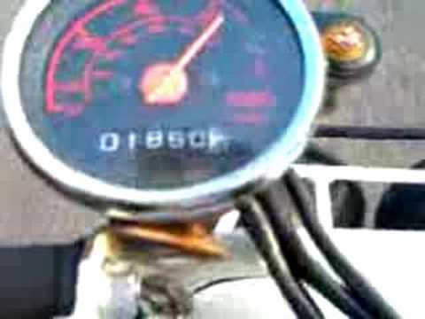 Top Speed Run Seans Honda Ruckus--Stock Motor