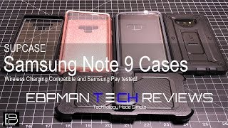 Supcase Samsung Galaxy Note 9 Cases Review