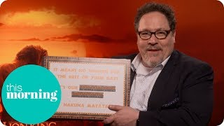 Jon Favreau Takes on the Lyric King Challenge | This Morning