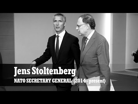 Jens Stoltenberg takes up office as NATO Secretary General