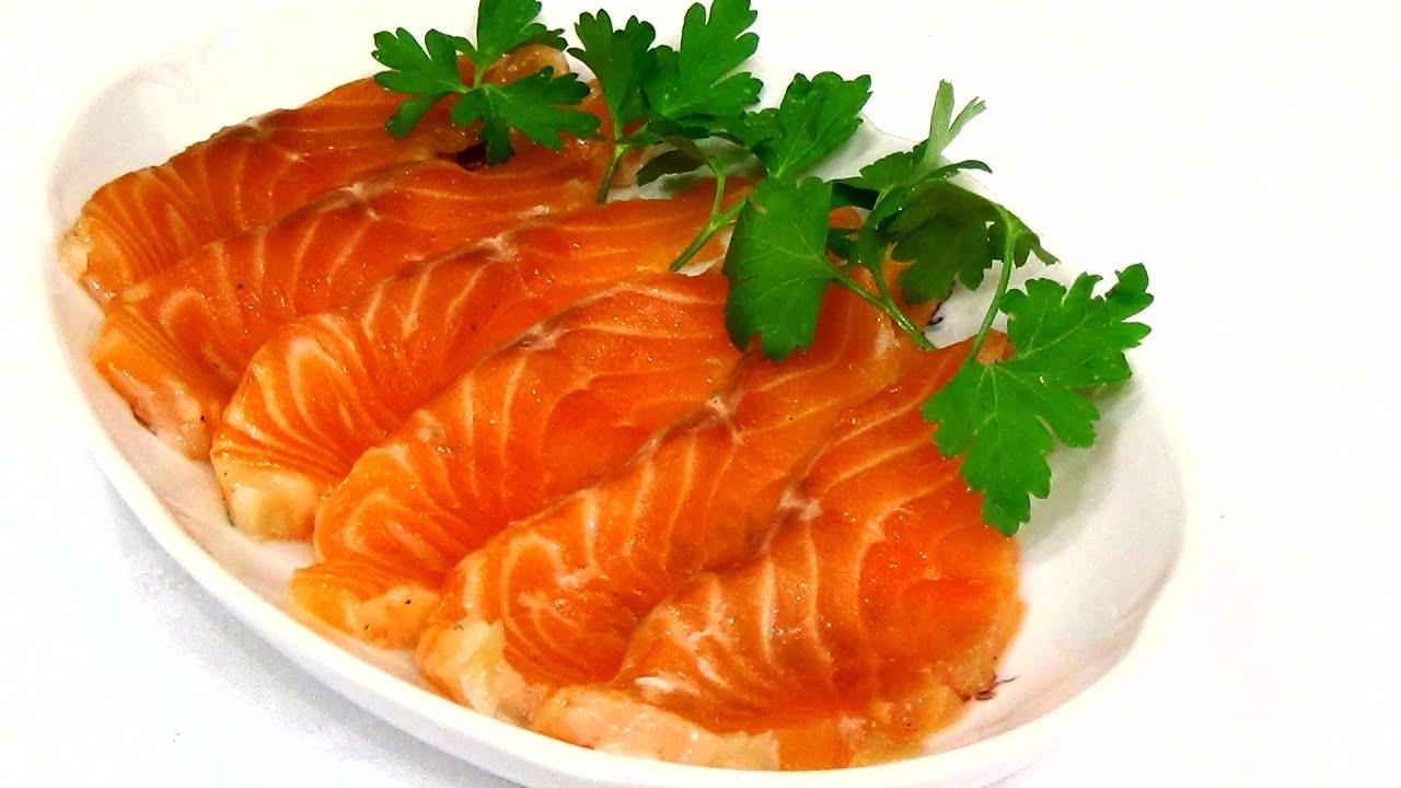 Рецепт из красной рыбы в домашних условиях