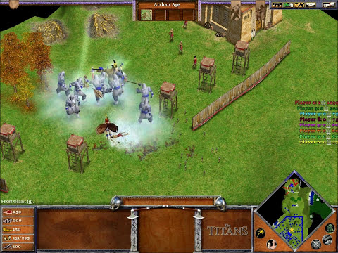 Age of mythology Clash of the titans