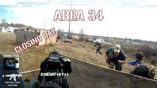 AREA 34 - LAST DAY GAMEPLAY [KRYTAC LMG ENHANCED + PDW]