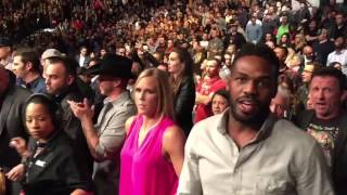 Jon Jones, Holly Holm, & Donald Cerrone React To UFC 195