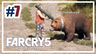 He threatens my bear with an RPG! | Far Cry 5 #7