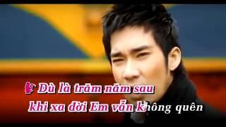 Tram nam khong quen Quang Ha ft Vy Oanh Karaoke