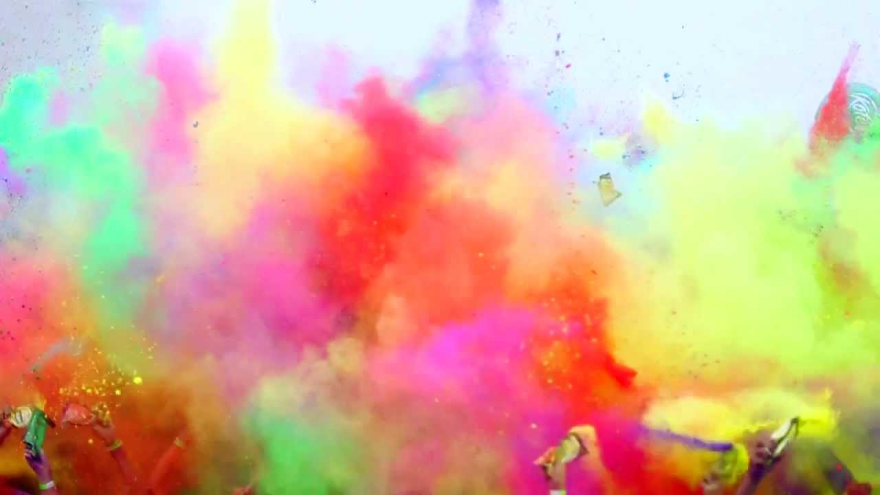 The Color Run La Serena 2014 Youtube Pictures In Color