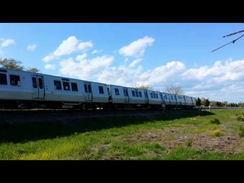 As part of the acceptance testing that Metro is performing on the 7000-Series railcars prior to their entering revenue service, a set of railcars travels sou...