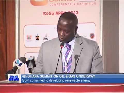 Ghana Oil & Gas Summit 2013   News Coverage at AICC, Accra, Ghana