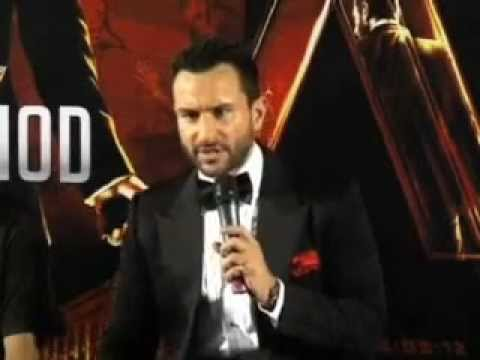 Saif Ali Khan unveils first look of Agent Vinod