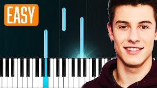 "Download Lagu Shawn Mendes - ""In My Blood"" 100% EASY PIANO TUTORIAL Gratis STAFABAND"