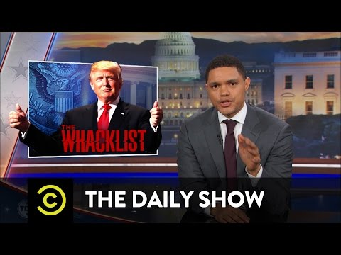 The Daily Show - Team Trump Proposes a Muslim Registry